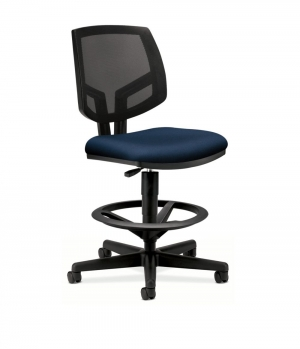 REGULAR $362.99/each ***CLOSEOUT ITEM*** Volt Series Mesh Back Adjust Task Stool, Navy    -------REGULAR $362.99/each-------          only 4 in stock